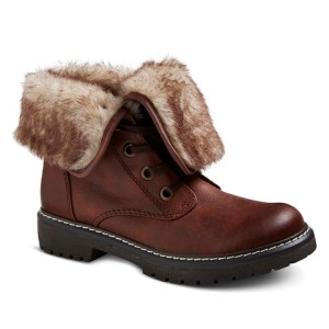 target shearling boots